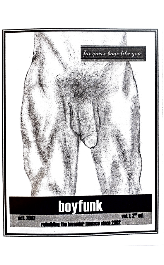 Boyfunk zine 1 cover