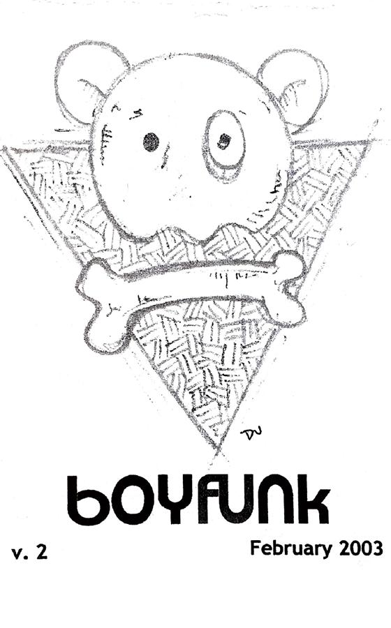 Boyfunk zine 2 cover