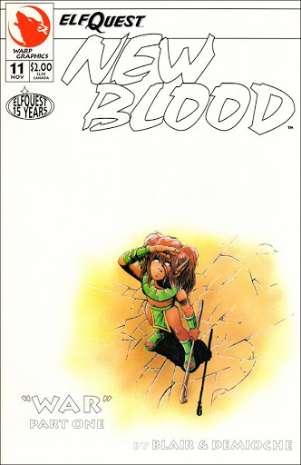 Cover of Elfquest Newblood #11