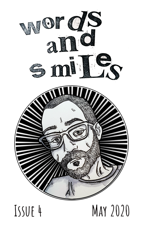 Words and Smiles 4 zine cover