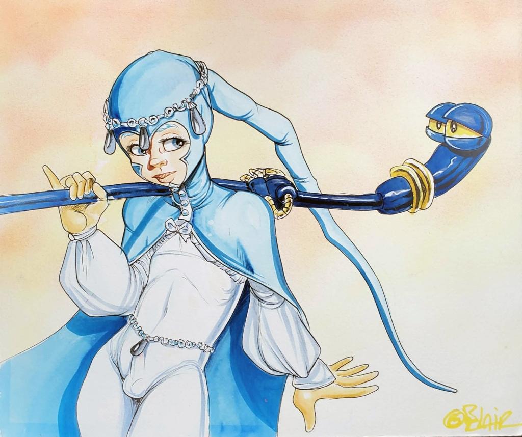Illustration of Windblade
